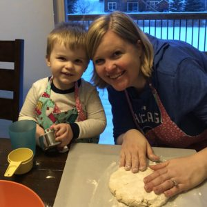 Making Salt Dough Ornaments With Small Children
