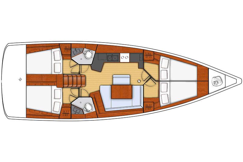 Oceanis 45 - Alboran