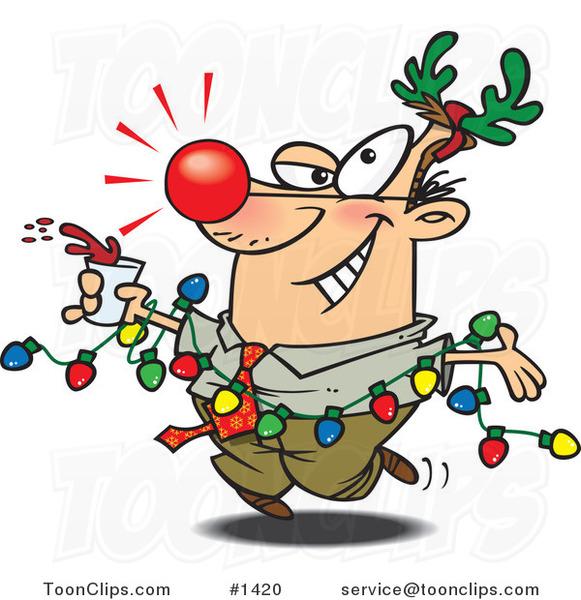 Christmas Lights Cartoon