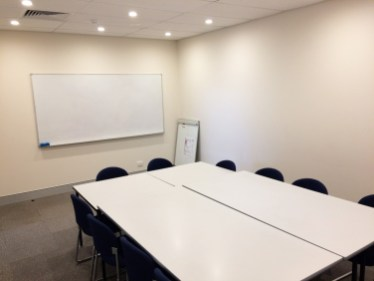 Conference Room - Complete with whiteboard, flipchard, TV and DVD player