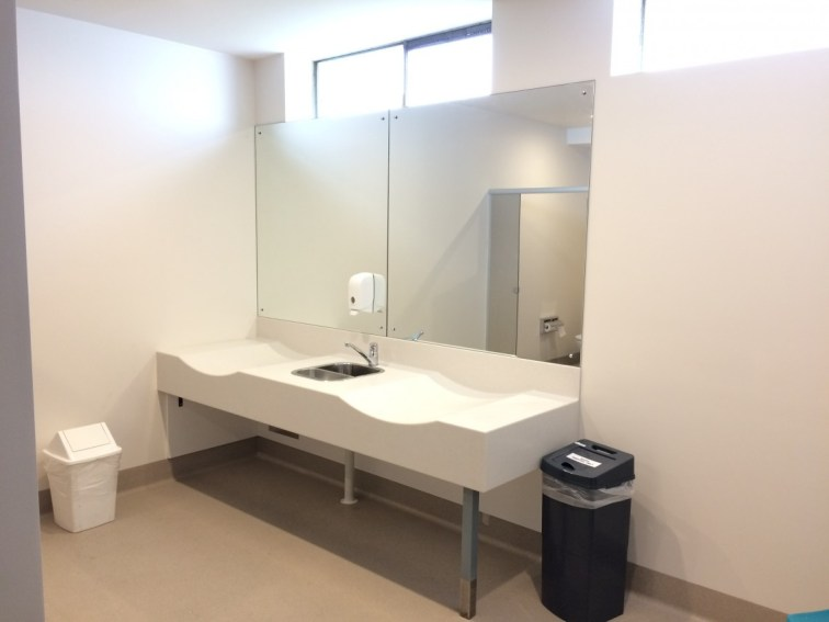 Modern Baby Change Room
