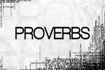 Proverbs - January 2017