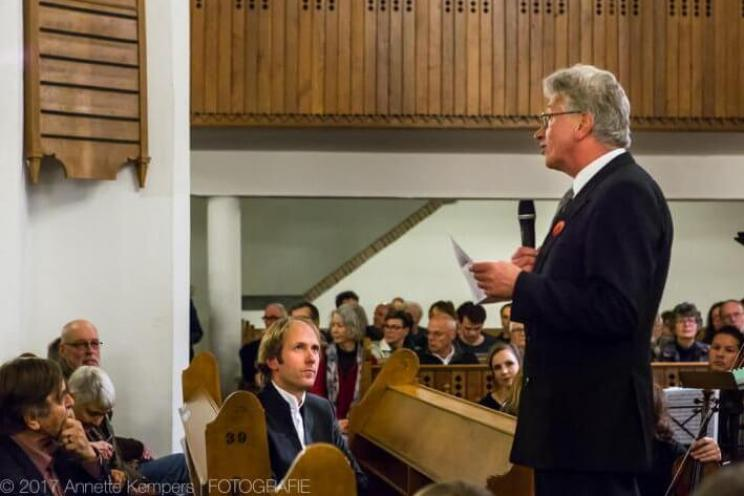 Toespraak door de voorzitter van Toonkunst Wageningen