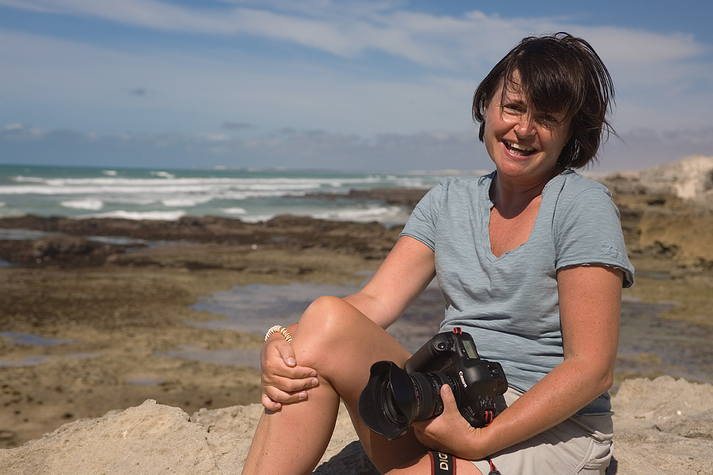 Ann Toon, wildlife photographer, South Africa