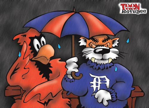 Cardinals and Tigers World Series Rainout