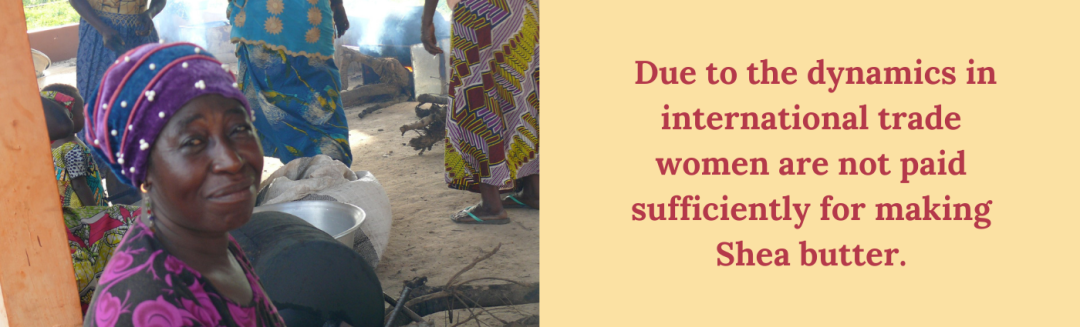 due to dynamics in international trade women are not paid sufficiently