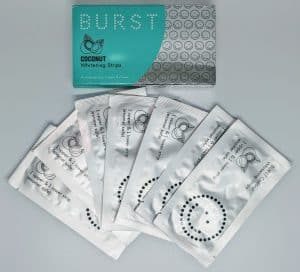 BURST white strips