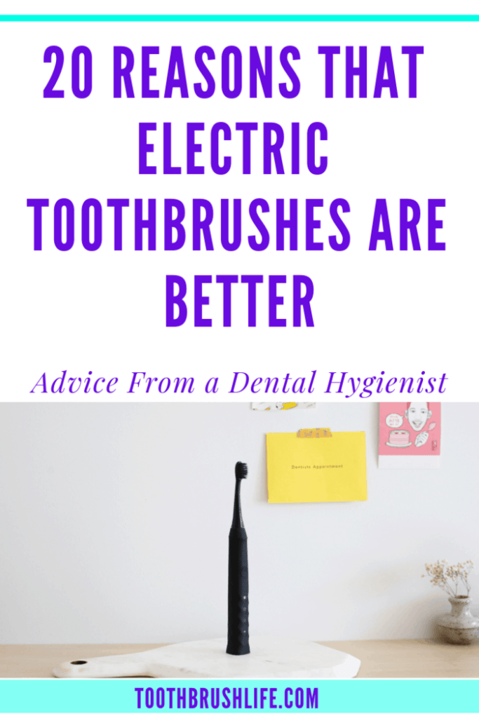 electric toothbrush benefits