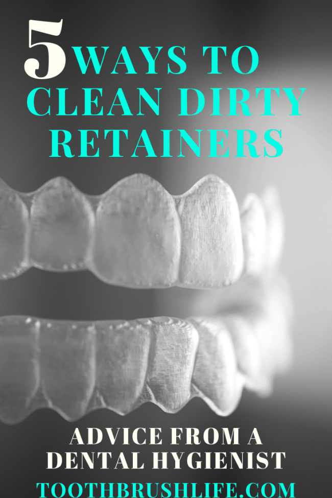 how to clean retainers