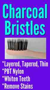burst toothbrush charcoal bristles