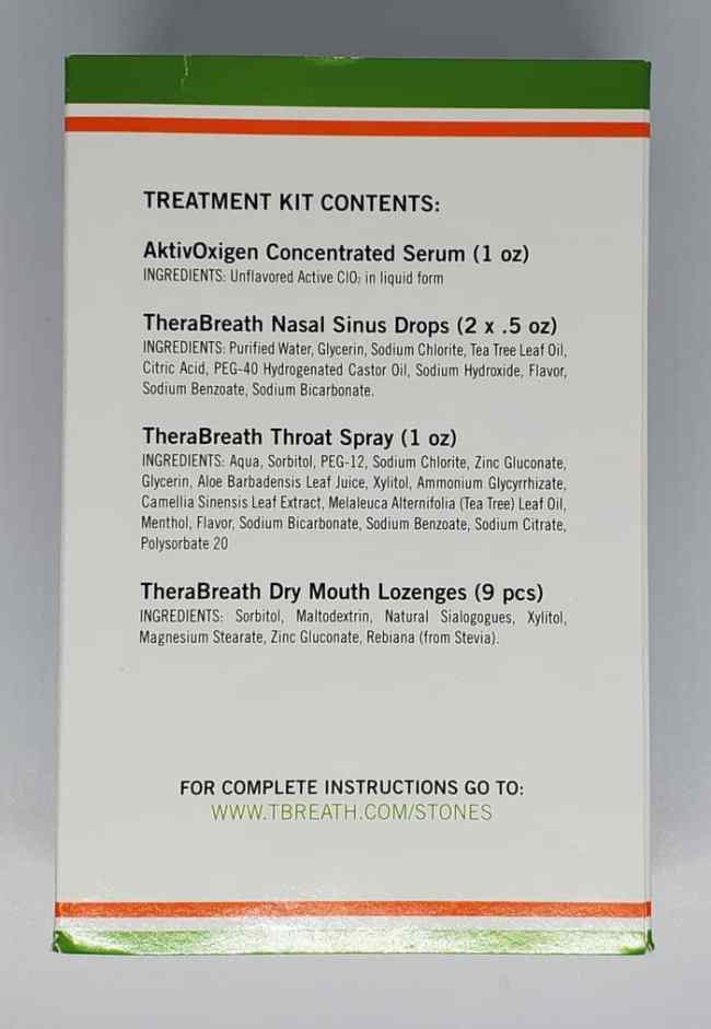 thera breath tonsil stone treatment kit review