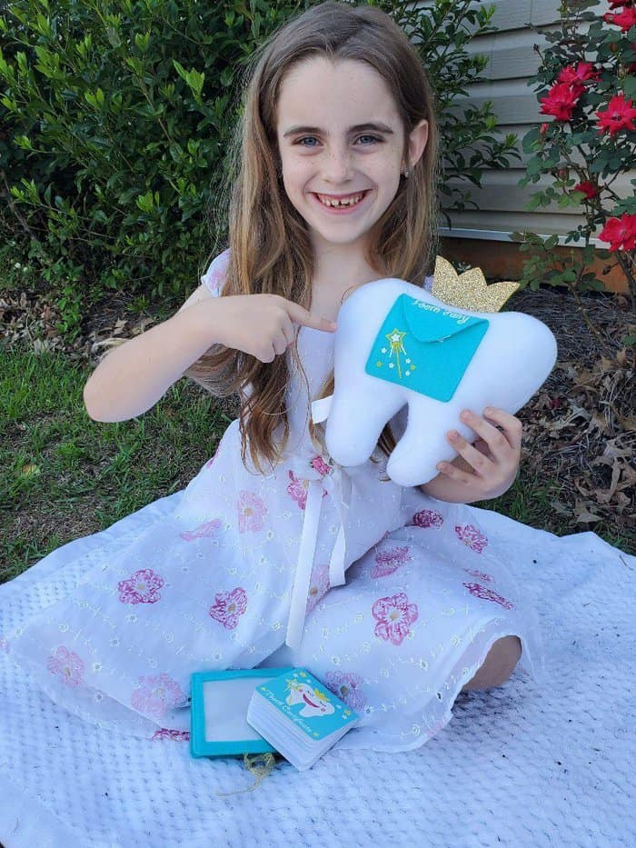 tooth fairy pillow kit for girls