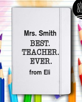 best teacher ever journal