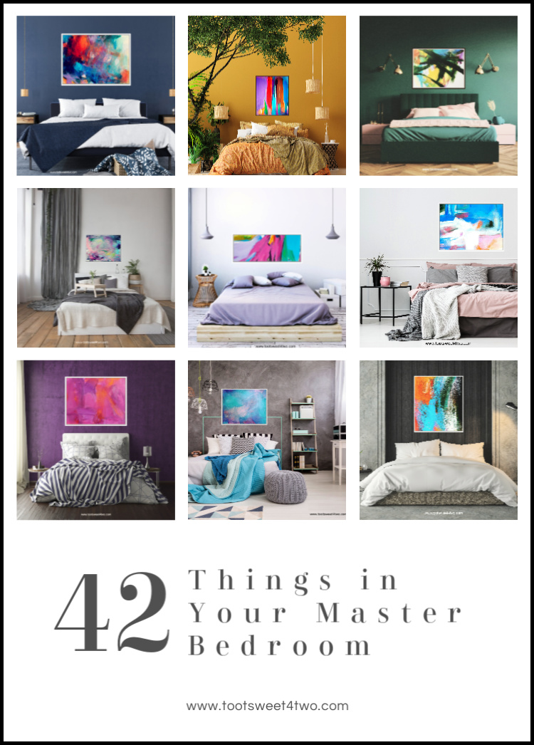 42 things in your master bedroom toot