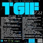 DJ Don X TGIF Quick mix Vol 22