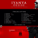 NEWS: Official Tracklisting For Iyanya's Sophomore Album [Iyanya vs Desire]