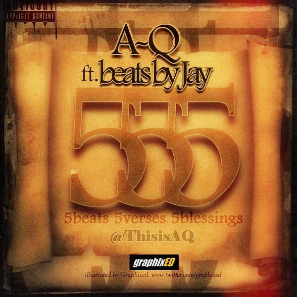 A-Q 555 ARTWORK BY GRAPHIXED