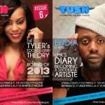Sexy Emma Nyra And Raving Endia Grace The Cover Of Tush Magazine Issue 6.