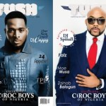 BANKY W & D'BANJ LOOK STUNNING ON THE COVER PAGES OF TUSH MAGAZINE ISSUE 11
