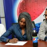 Seyi Shay Signs Endorsement Deal With Pepsi As Her #ThingsILongThroatFor Comes To Life