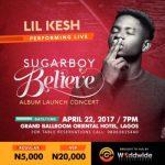 WIN TICKETS: Sugarboy 'BELIEVE' Album Launch Concert