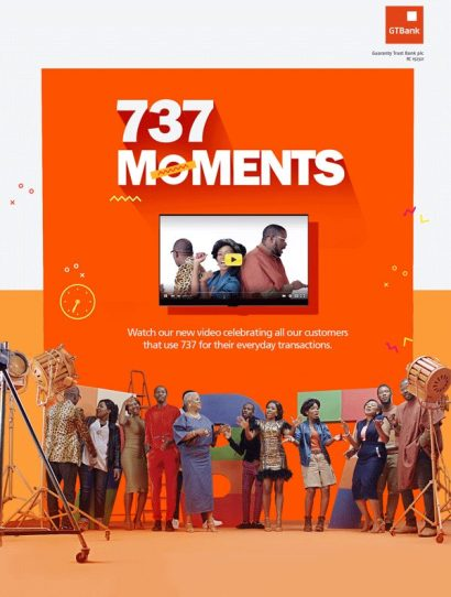 eflier 1 @Gtbank ‏ Releases 737 Moments, Music Video Of Its Popular 737 Theme Song