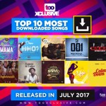 Top 10 Most Downloaded Songs Released In July 2017