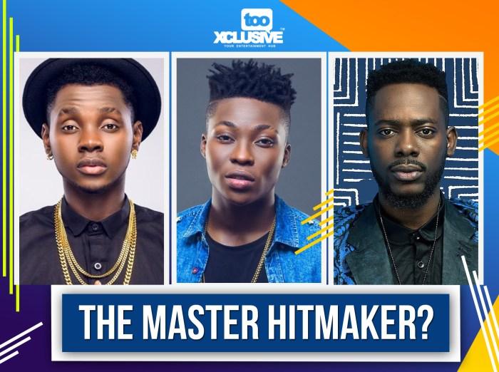 hit - Kiss Daniel/Reekado Banks/Adekunle Gold . . Who Is The Master Hitmaker?