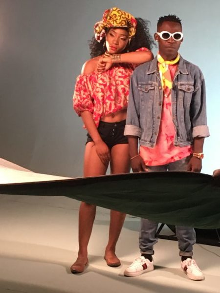 IMG 2052 e1505309931921 - BTS PHOTOS: Omihanifa – Wave Remix f. Olamide