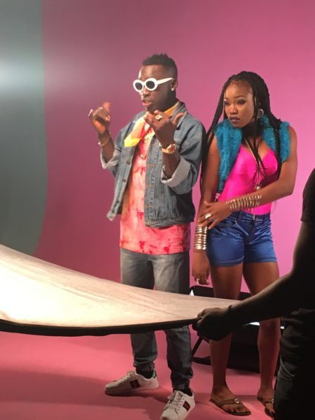 IMG 2129 e1505310198279 - BTS PHOTOS: Omihanifa – Wave Remix f. Olamide