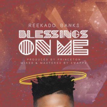 Image result for Reekado Banks – Blessings On Me