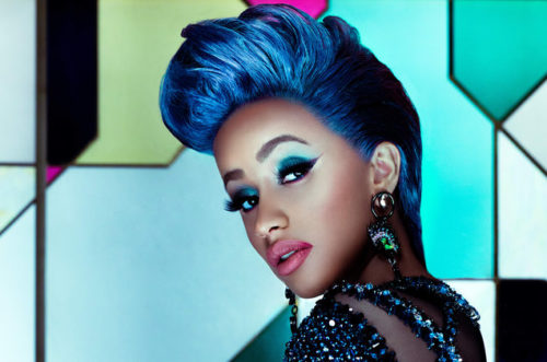 "Cardi B Goes Nude To Channel ""Poison Ivy"" In New Halloween Look « tooXclusive"