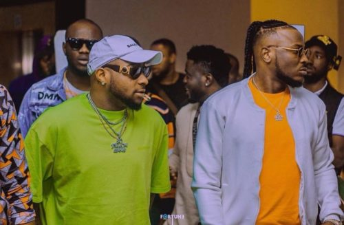 """""""Peruzzi Is The Best Thing That Ever Happened To My Career""""- Davido Fires Back At Golden Boy CEO « tooXclusive"""