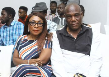 "Watch Precious Moment Burna Boy's Mum & Dad Were Jamming To The ""African Giant Album"" « tooXclusive"