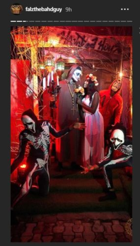 """Falz Shares Photos From His """"Haunted House"""" Themed Birthday Party « tooXclusive"""