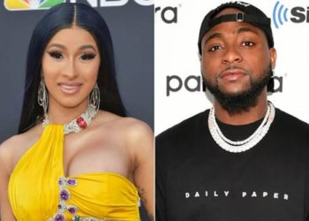 """Davido & I Recorded """"Fall"""" Remix 9 Months In the past, But My Label Didn't Allow Us Release It - Cardi B Reveals « tooXclusive"""