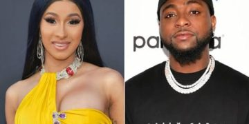"Davido & I Recorded ""Fall"" Remix 9 Months In the past, But My Label Didn't Allow Us Release It - Cardi B Reveals « tooXclusive"