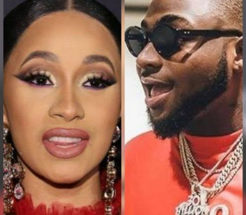 Cardi B Thanks Davido After He Ordered That 20 Bottles Of Luxury Champagne Worth 7 Million Be Given To Her At Lagos Night Club