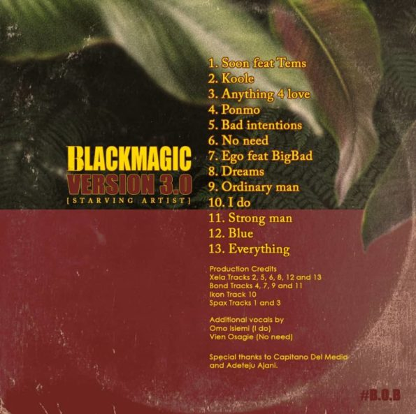 """BlackMagic Set to Release New Album """"Starving Artist"""", This Friday « tooXclusive"""