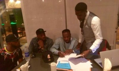 """He Present When Davido Signed Me To DMW"" – Peruzzi Exposes Former Boss, King Patrick"