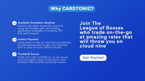 App to sell Steam and Google Play Cards in Nigeria  Cardtonic « tooXclusive