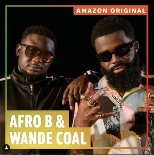 "Afro B – ""Amina"" (Remix) ft. Wande Coal"