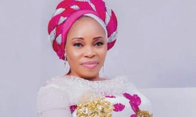 "Gospel Artiste, Tope Alabi Reacts After Getting Bashed For Dancing Like A ""Marlian"" At A Party"