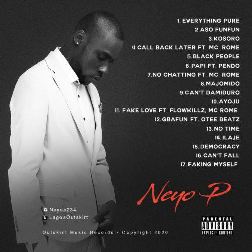 """Neyo P - """"Black People"""" Album « tooXclusive"""