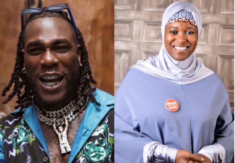 Activist, Aisha Yesufu Rebukes Burna Boy For Shaming Nigerians That Attacked Funke Akindele « tooXclusive