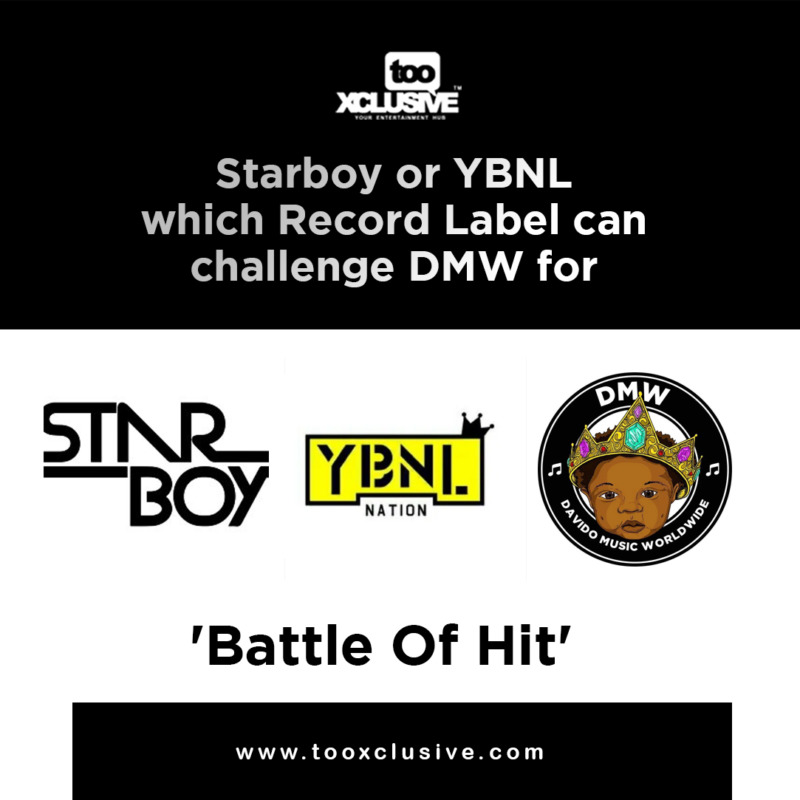 """Starboy"" vs ""YBNL"".... Which Record Label Is Fit To Challenge ""DMW"" For 'Battle Of Hit!' « tooXclusive"