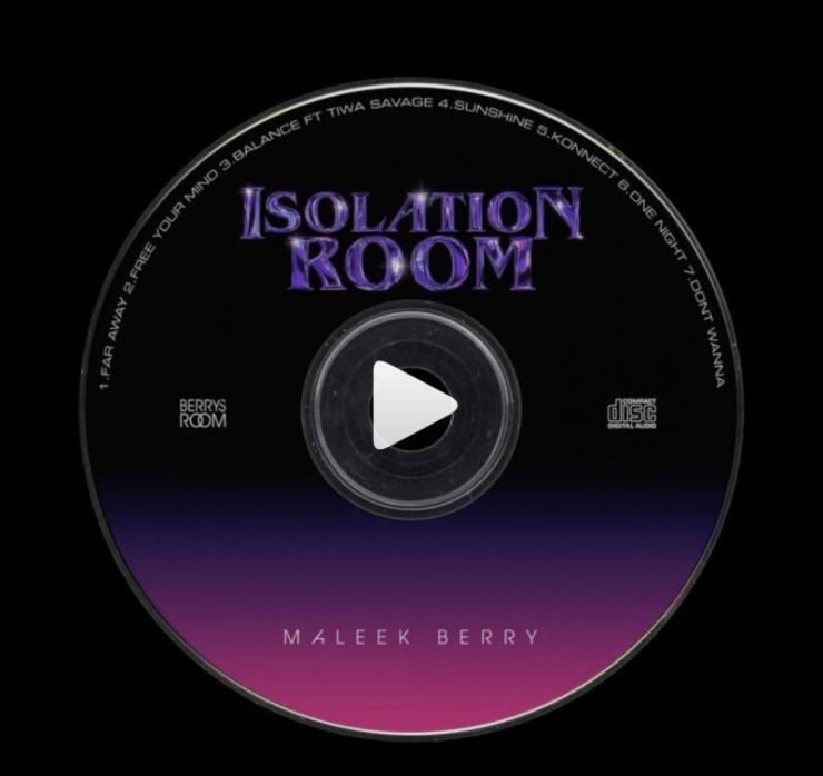 Maleek Berry Isolation Room