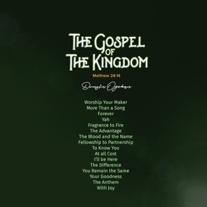The Gospel Of The Kingdom Tracklist