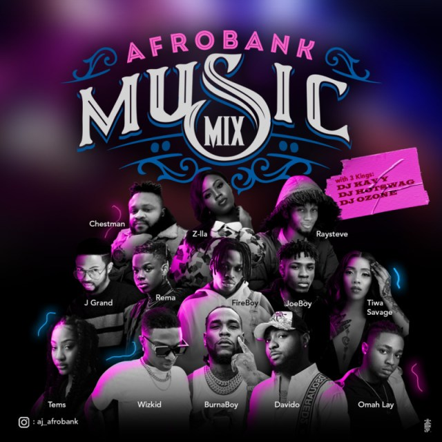 """""""Afrobank 2021 New Year Mix"""" Hosted by DJ Kay Y, DJ Hotswag, DJ Ozone 1"""