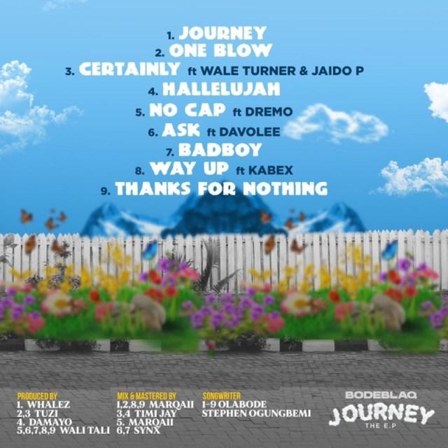 "[EP] Bode Blaq – ""Journey"" ft. Wale Turner, Jaido P, Dremo… 1"